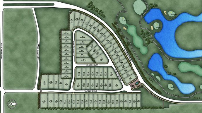 Palazzo Site Map