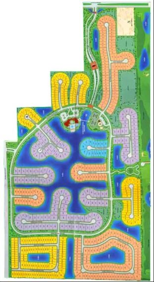 Saturnia Lakes Site Map