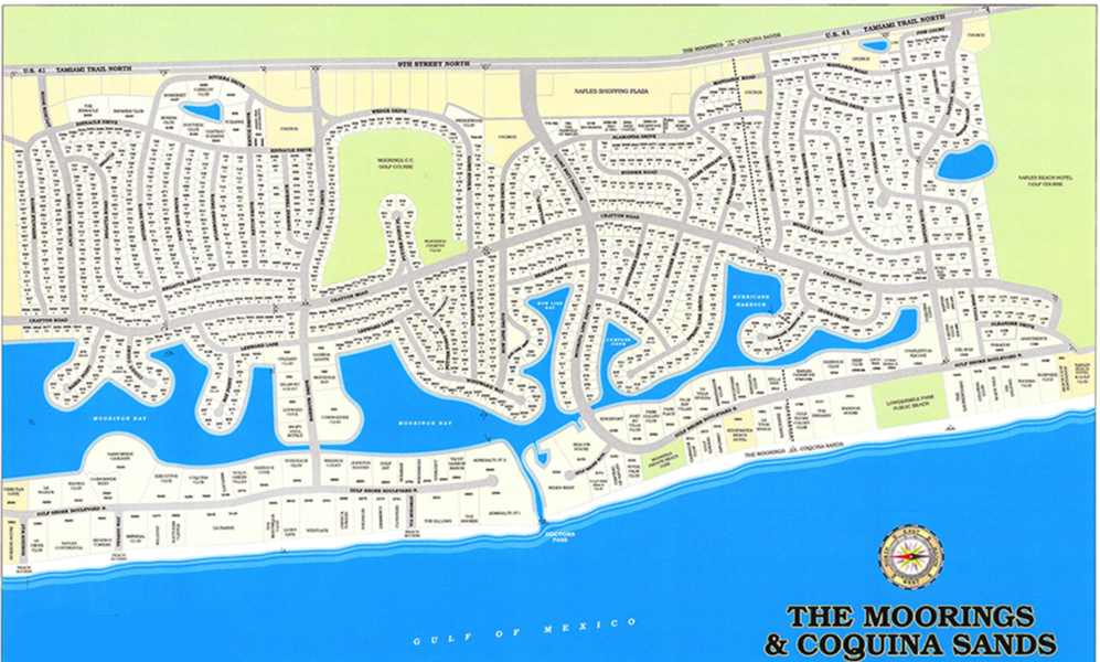 Coquina Sands Site Map